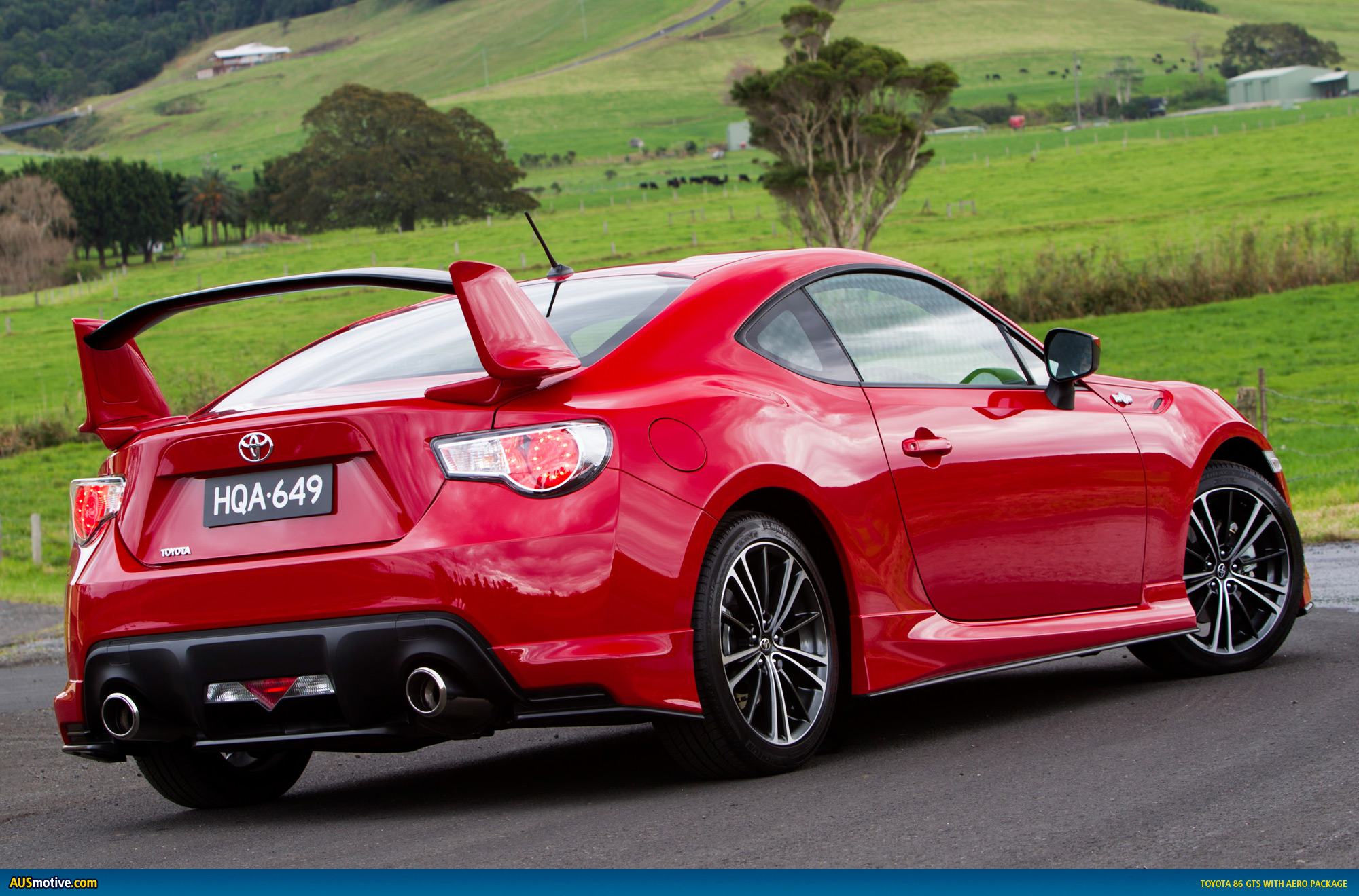 Toyota 86 Gts Gives You Wings