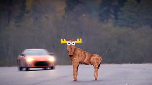 Toyota 86 fails moose test