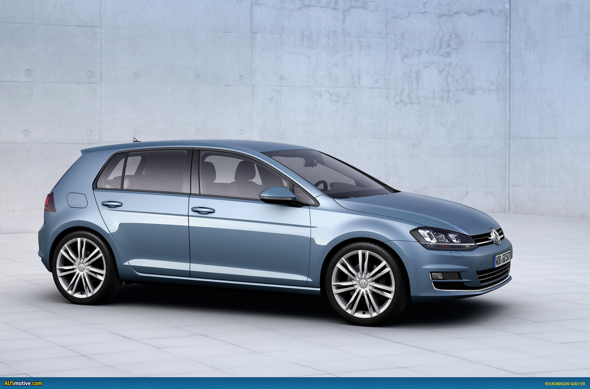 volkswagen golf vii revealed
