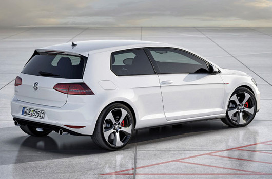 2013 vw golf gti previewed in leaked images. Black Bedroom Furniture Sets. Home Design Ideas
