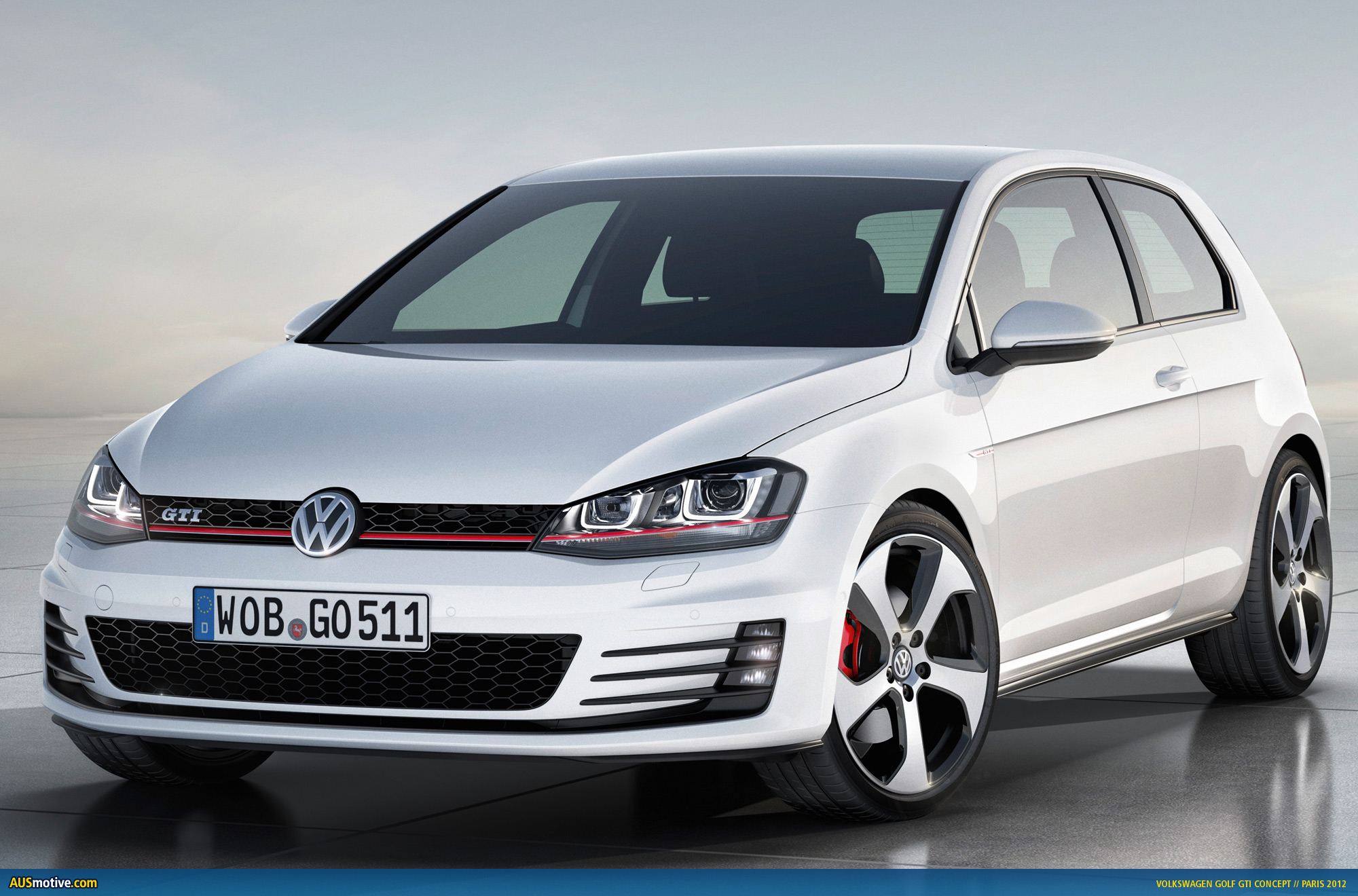 ", here is the new ""near-production"" seventh-generation Golf GTI"