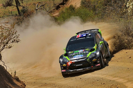 Chris Atkinson, Ford Fiesta RS WRC, Rally Mexico