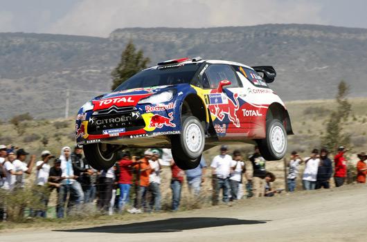 Sebastien Loeb, Citroen DS3 WRC, 2012 Rally Mexico
