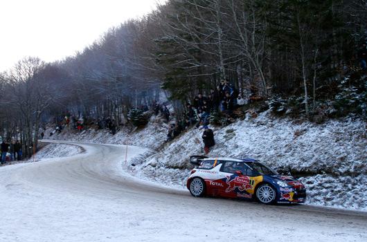 Sebastien Loeb, Citroen DS3 WRC, 2012 Rallye Monte Carlo