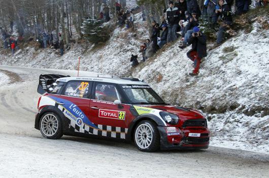Dani Sordo, MINI WRC, 2012 Rallye Monte Carlo