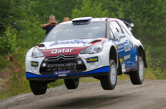 Citroen DS3 WRC, 2012 Rally Finland