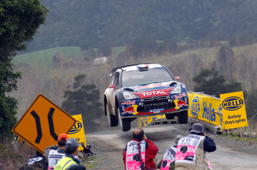 Sebastien Loeb, 2012 Rally New Zealand