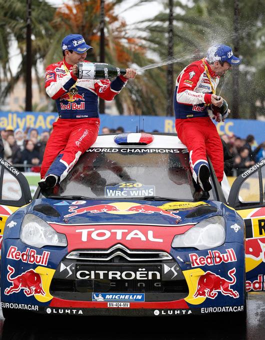 Sebastien Loeb wins 2012 Rally de Espana