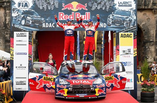 Sebastien Loeb, 2012 Rally Germany