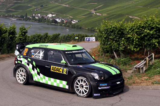 Chris Atkinson, WRC Team MINI Portugal, 2012 Rallye Deutschland