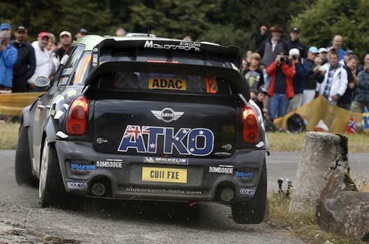 Chris Atkinson, WRC Team MINI Portugal, 2012 Rally Deutschland