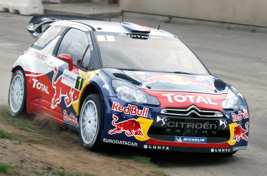 Sebastien Loeb and Daniel Elena, Citoren Racing, 2012 WRC world champions