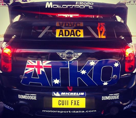Chris Atkinson, WRC Team MINI Portugal