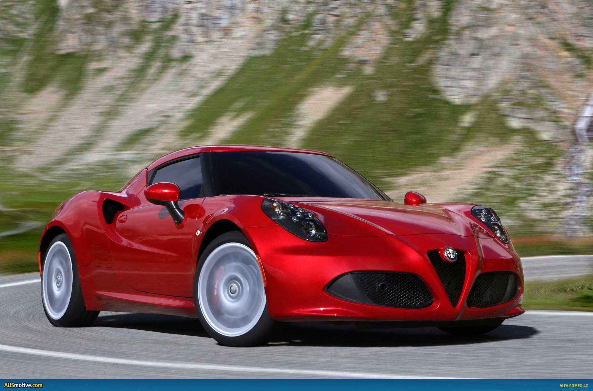 Alfa Romeo 4C Top Speed >> AUSmotive.com » Alfa Romeo 4C in detail