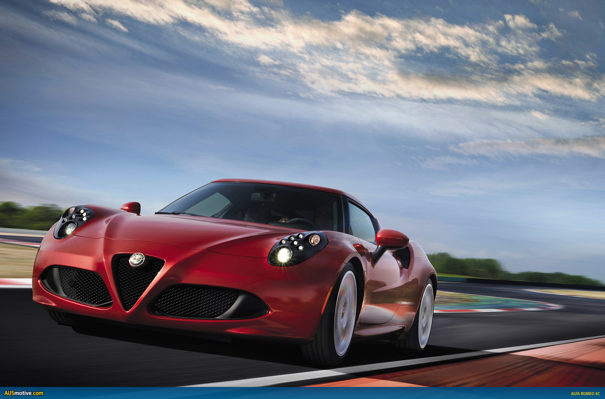 alfa romeo 4c to be priced from au 75 000. Black Bedroom Furniture Sets. Home Design Ideas