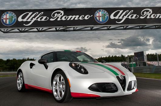 Afla Romeo 4C SBK safety car