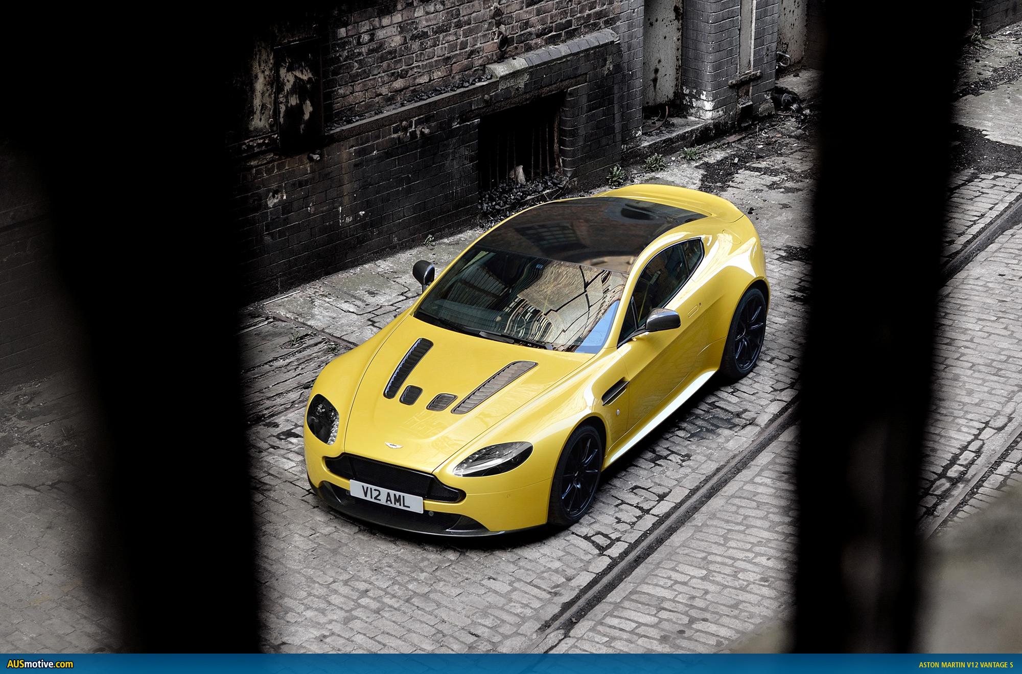 Ausmotive Com Aston Martin V12 Vantage S Revealed