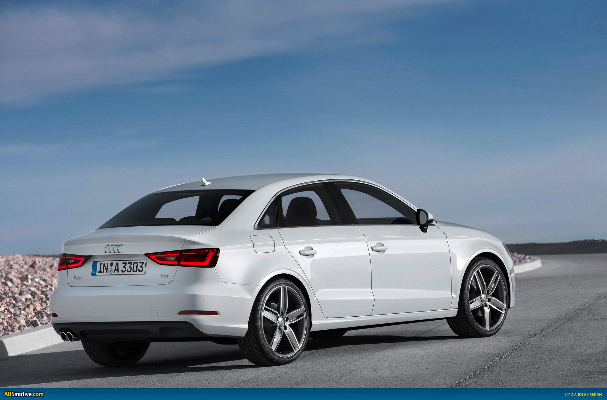 AUSmotive.com » New York 2013: Audi A3/S3 Sedan