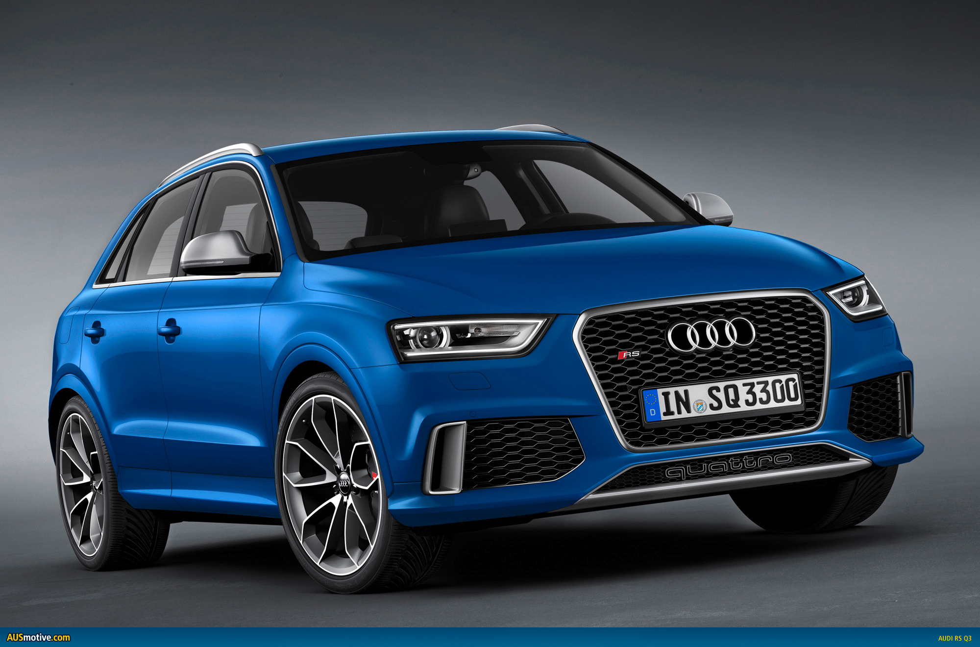 audi rs q3 revealed. Black Bedroom Furniture Sets. Home Design Ideas
