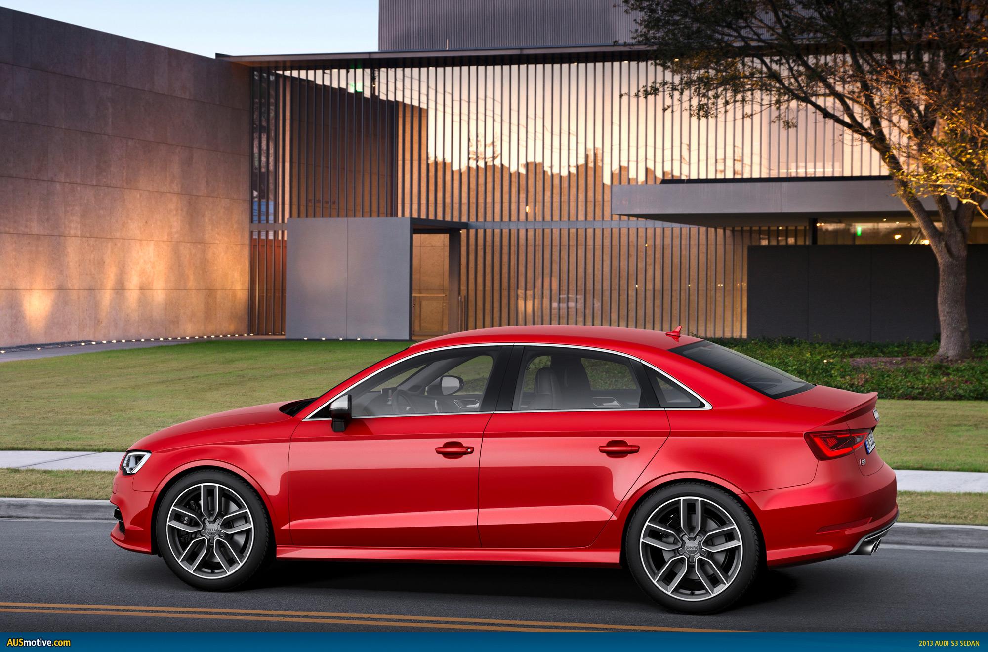 AUSmotive.com » New York 2013: Audi A3/S3 sedan