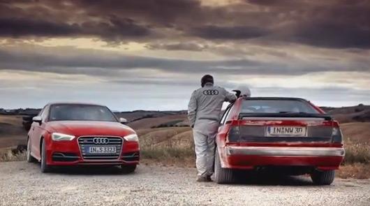 Audi S3 v Sport Quattro
