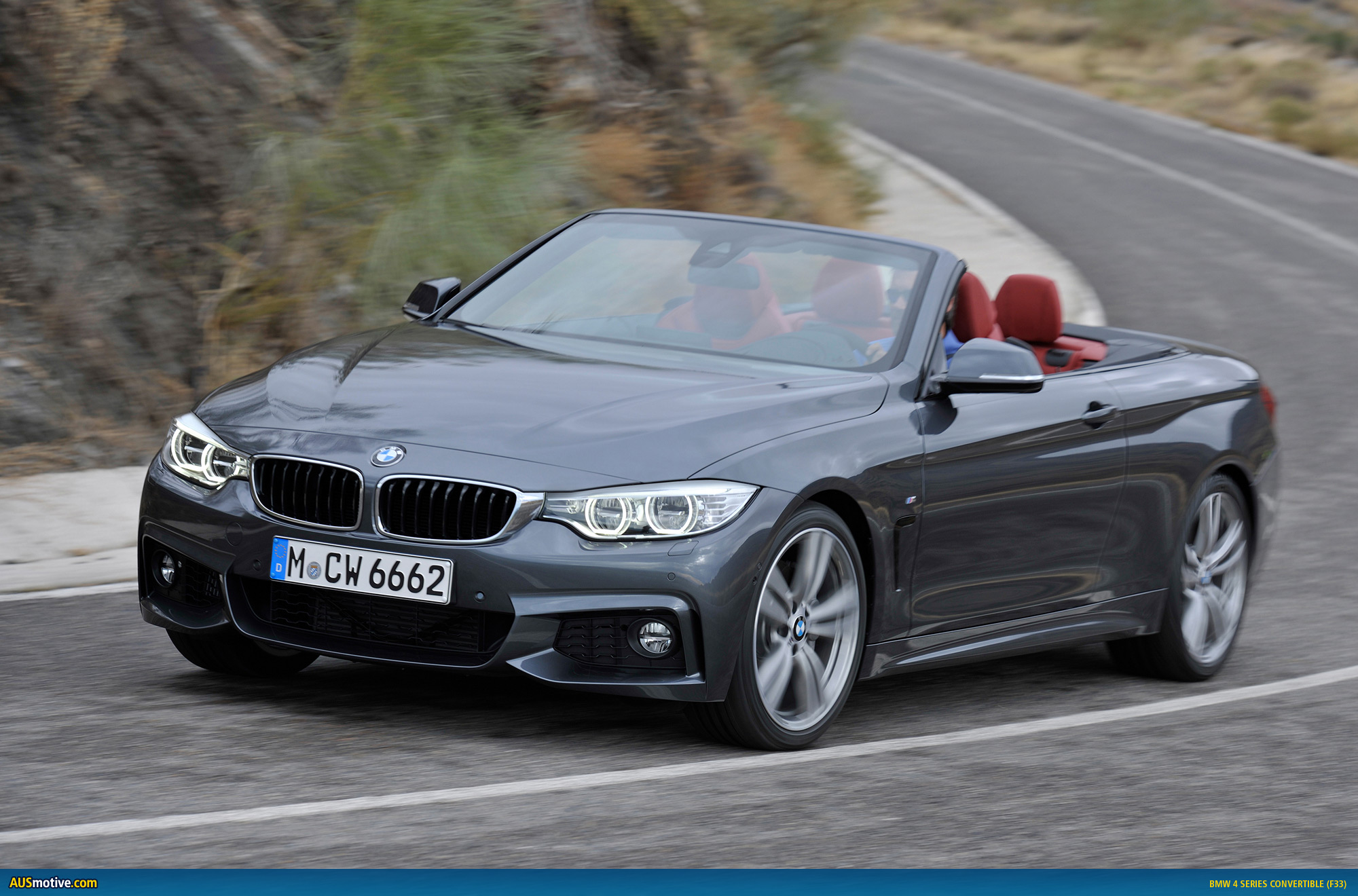 bmw 4 series convertible revealed. Black Bedroom Furniture Sets. Home Design Ideas
