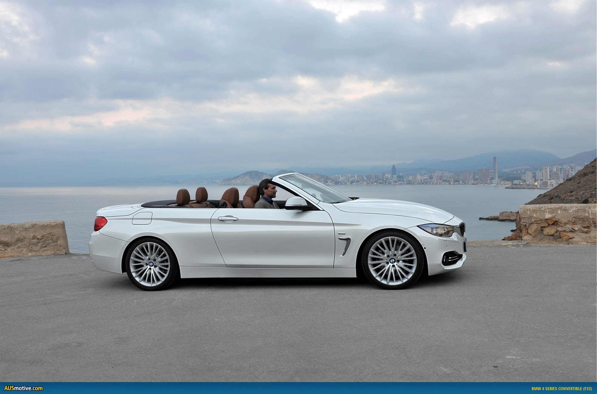 AUSmotive.com » BMW 4 Series Convertible revealed