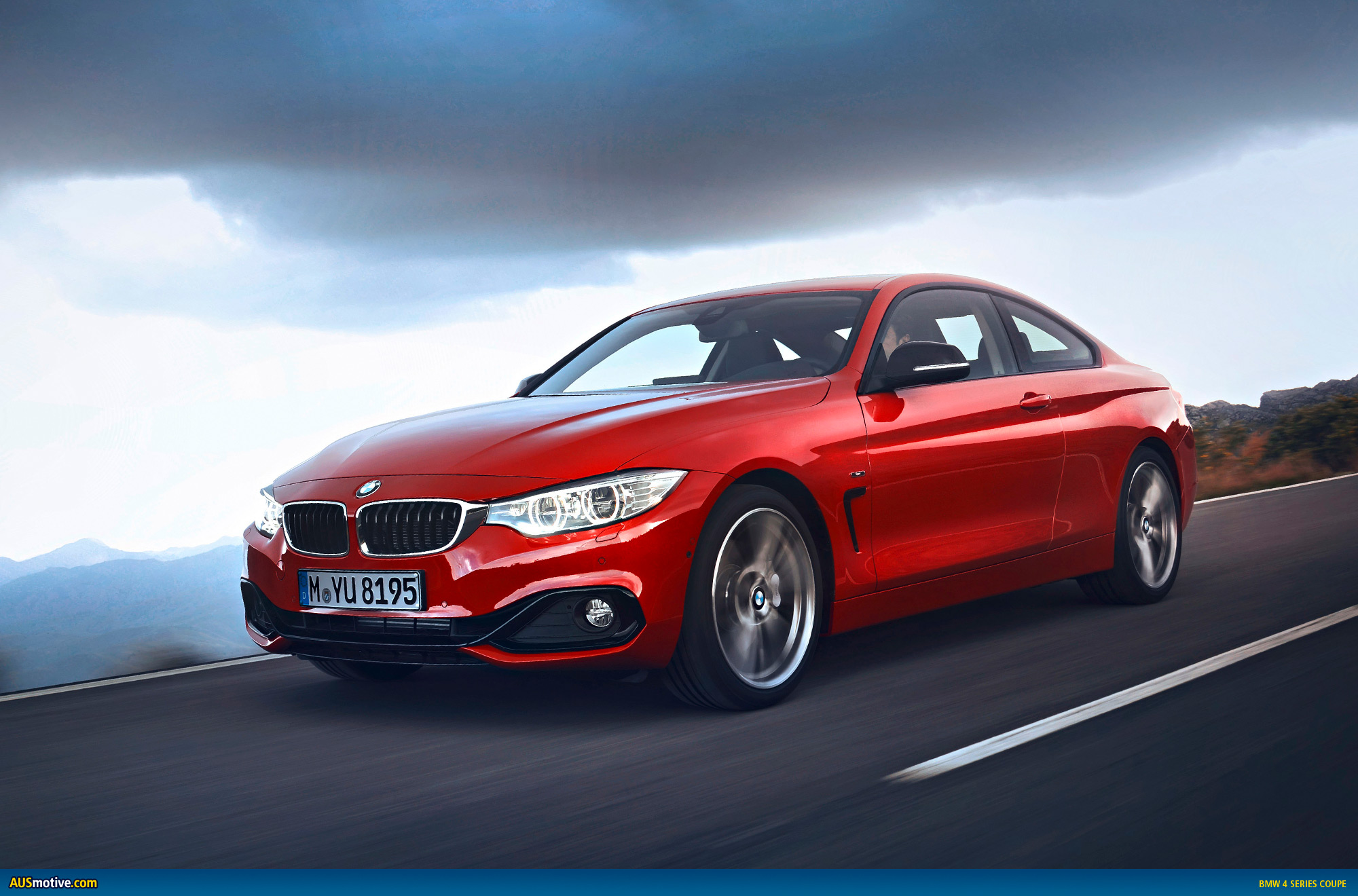 bmw 4 series coupe revealed. Black Bedroom Furniture Sets. Home Design Ideas