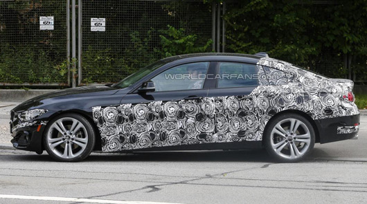 BMW 4 Series Gran Coupe prototype
