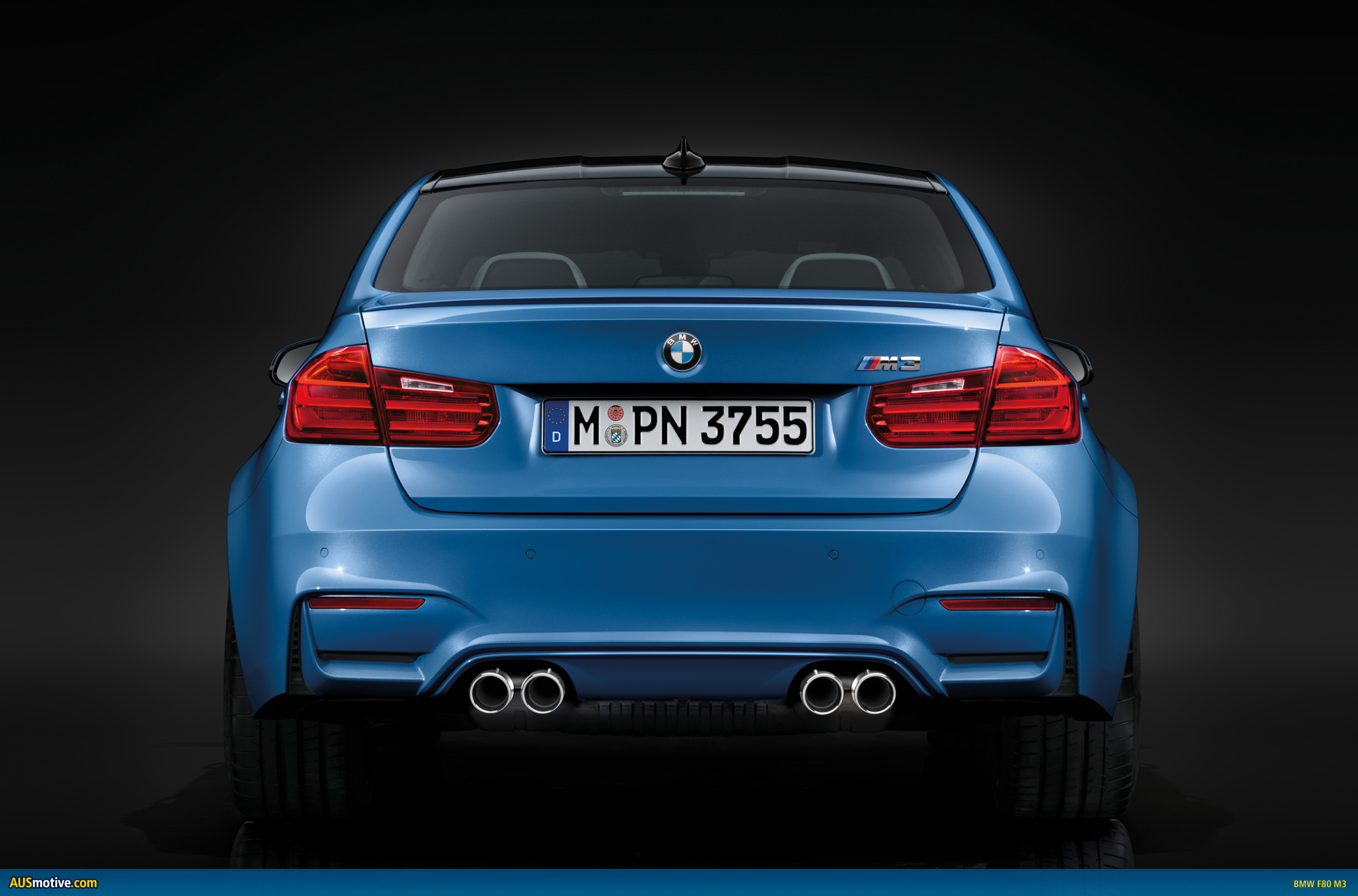 AUSmotive.com » 2014 BMW M3 Sedan and M4 Coupe revealed