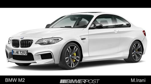 BMW M2 rendering