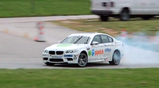 BMW M5 drift world record