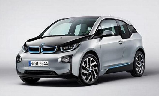 BMW i3 leaked image