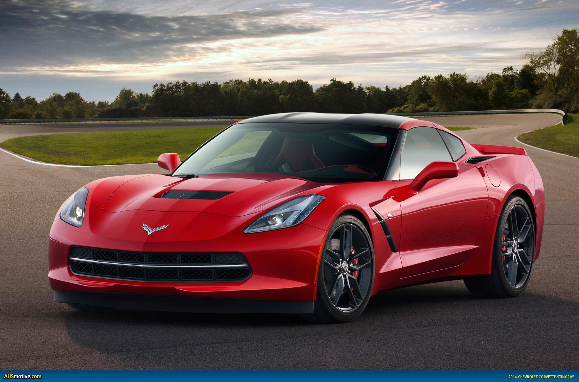 AUSmotive.com » Detroit 2013: Chevrolet Corvette Stingray