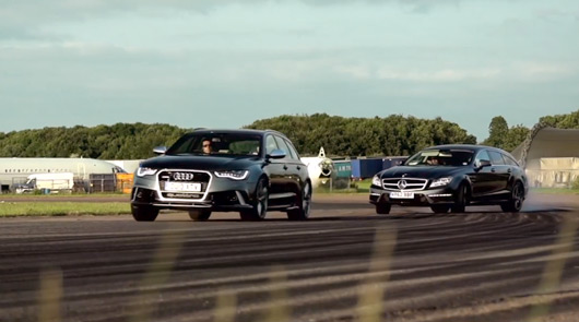 Audi RS6 Avant v Mercedes-Benz CLS63 AMG Shooting Brake