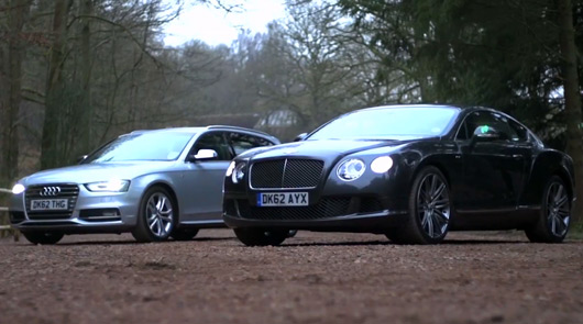 Chris Harris on Cars, Bentley v Audi