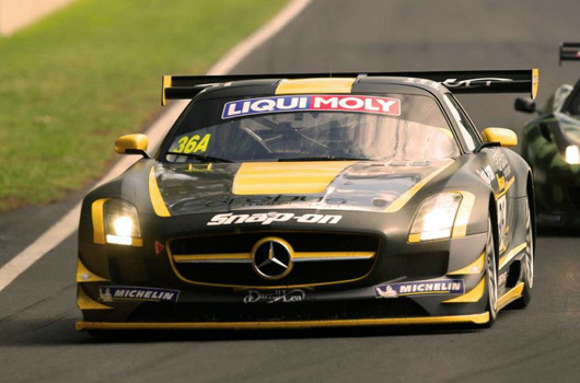 Erebus Mercedes SLS AMG GT3 wins 2013 Bathurst 12 hour