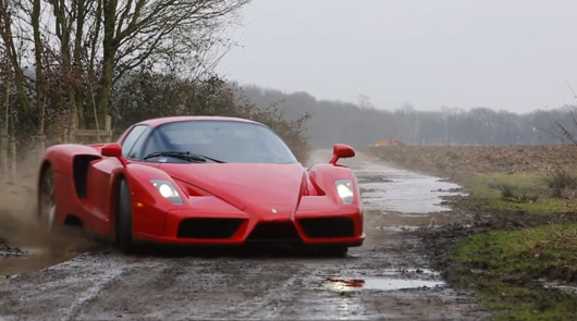 Ferrari Enzo rally bash