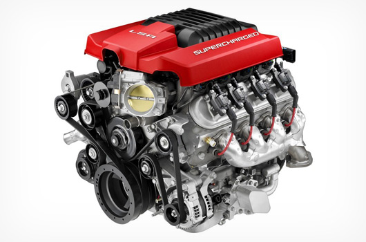 Holden's 430kW/740Nm 6.2 litre supercharged LSA engine