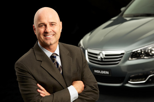 Mike Devereux, Holden Managing Director