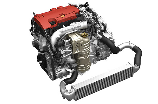 Honda 2.0 litre VTEC turbo engine