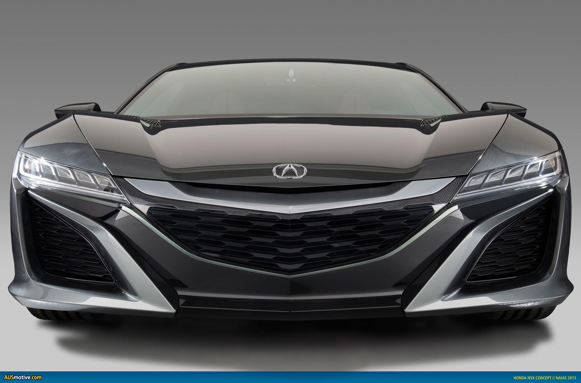 Ausmotive Com 187 Detroit 2013 Honda Nsx Concept