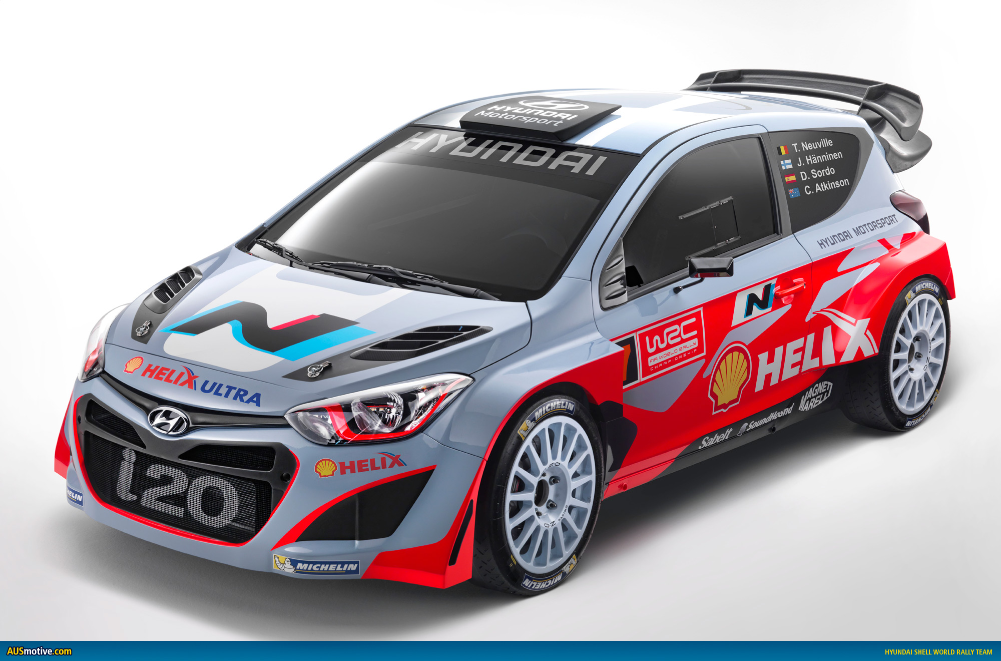 Hyundai I30n >> AUSmotive.com » Hyundai Motorsport launches i20 WRC car