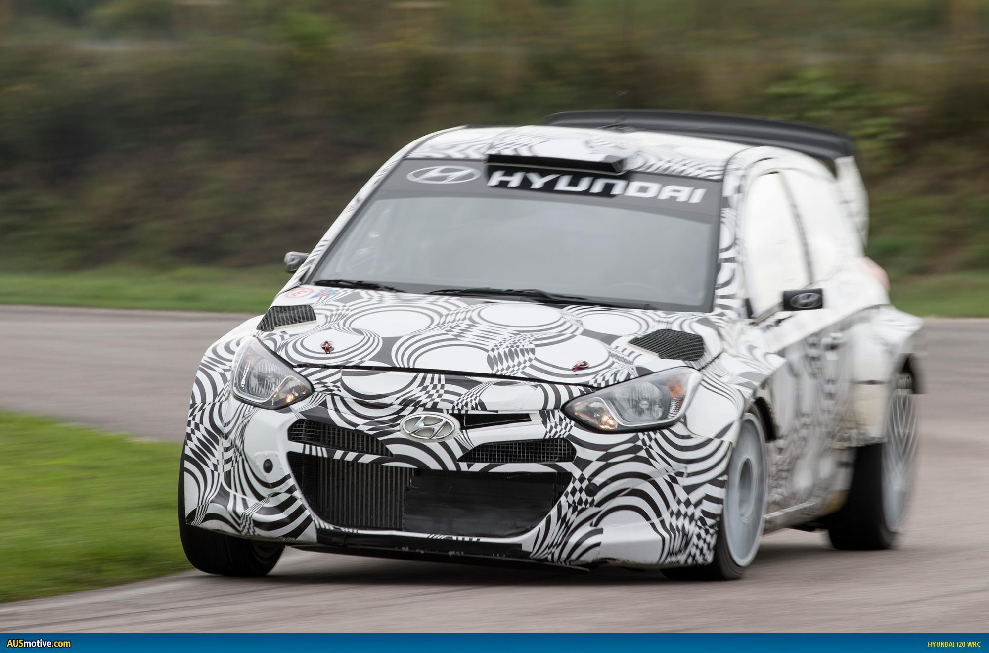 Ausmotive Com Hyundai I20 Wrc Testing Reaches New Heights
