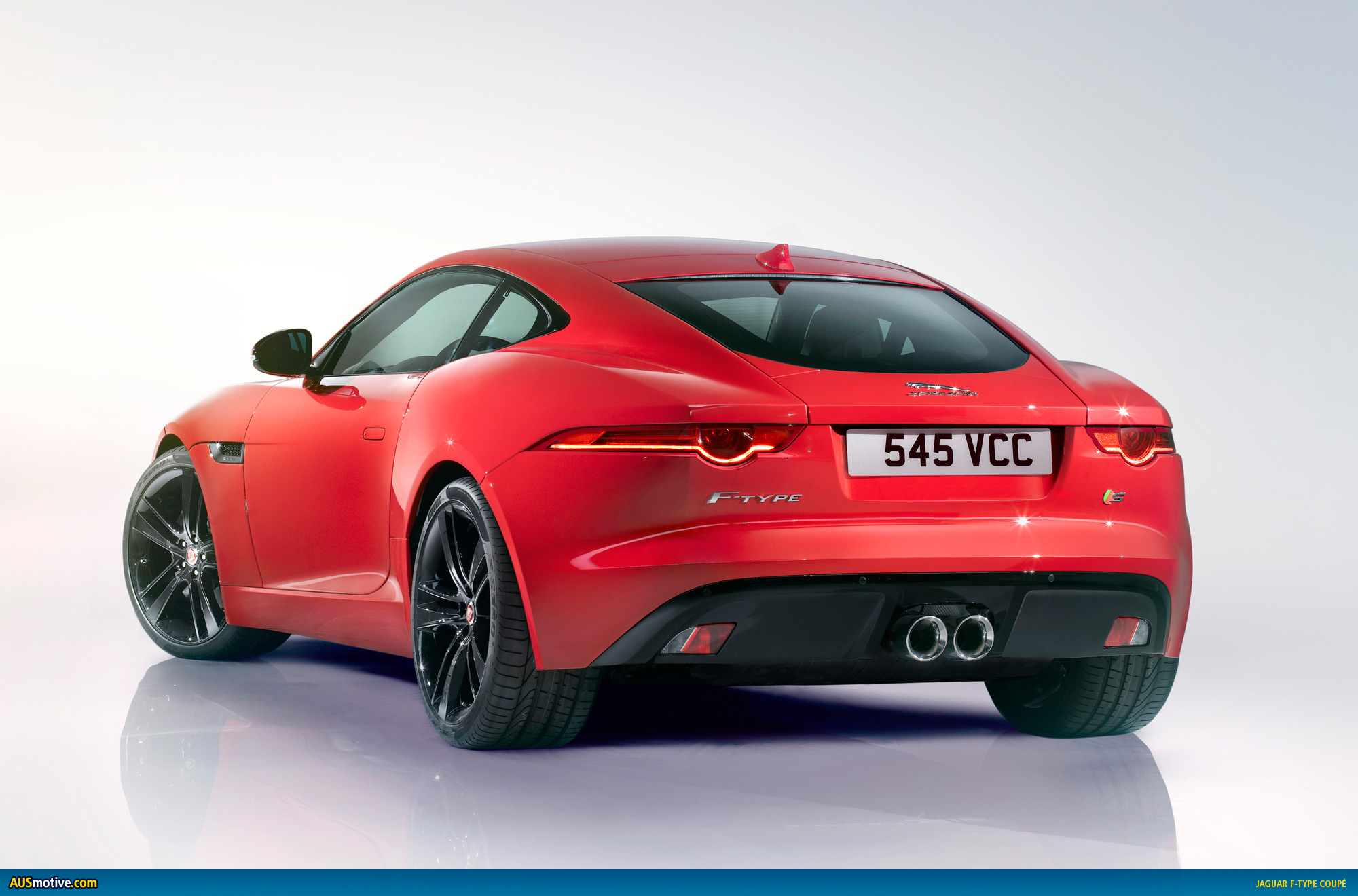 Ausmotive Com 187 La 2013 Jaguar F Type Coup 233 Revealed