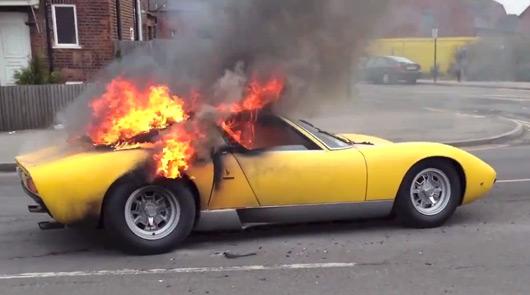 Ausmotive Com Lamborghini Miura Sv Lights My Fire