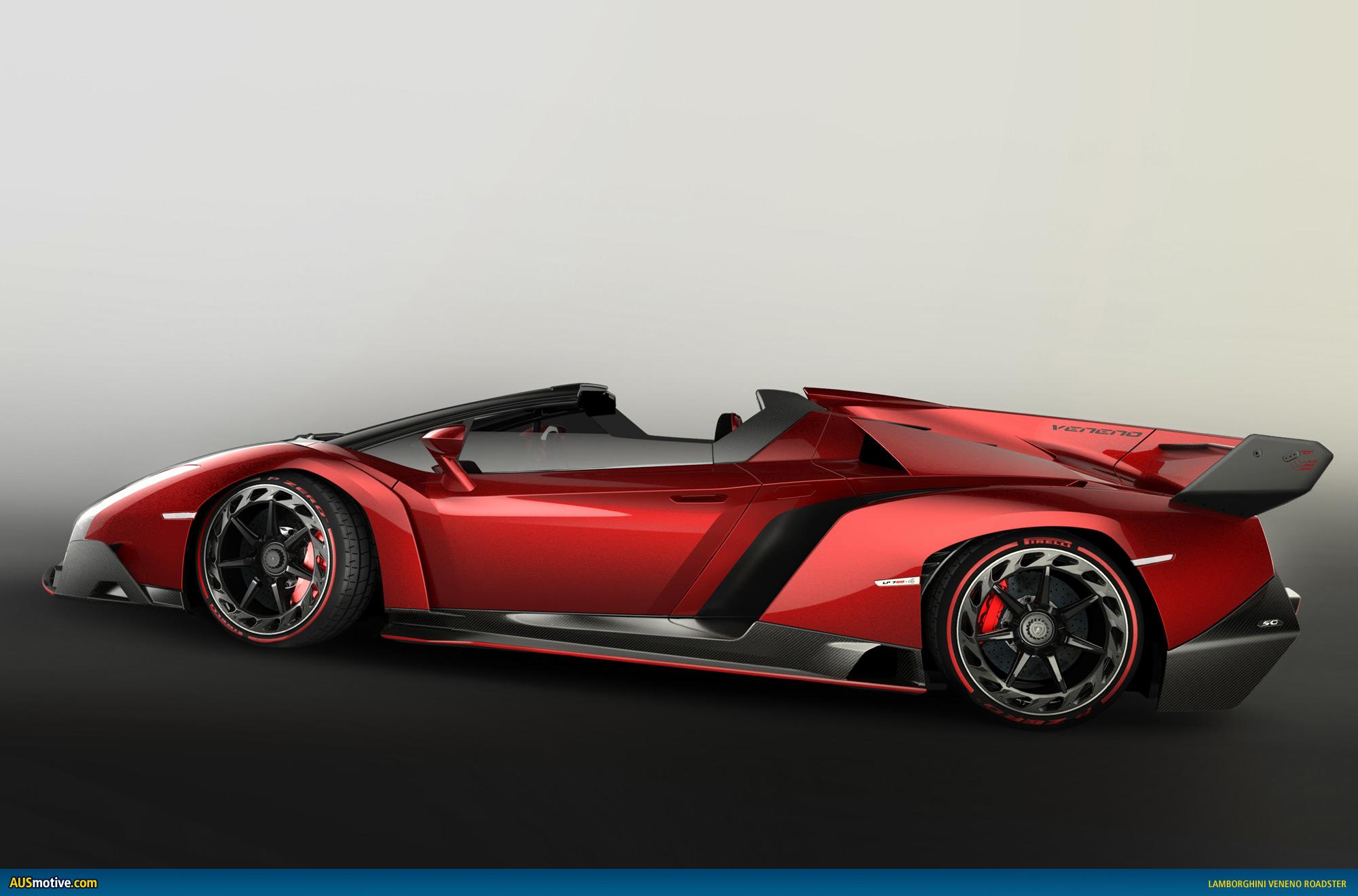 Ausmotive Com 187 Lamborghini Veneno Roadster Revealed