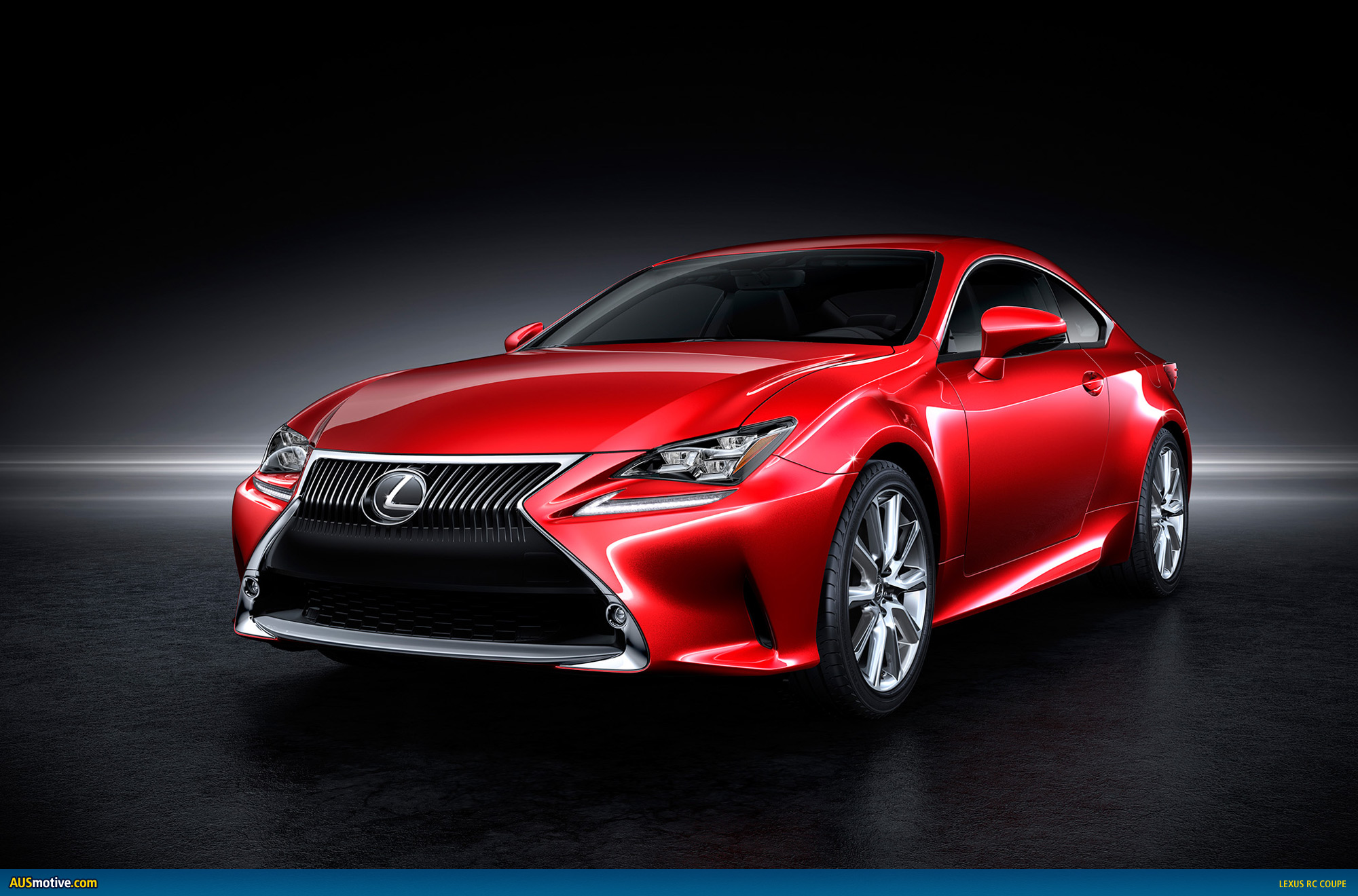 AUSmotive.com » Lexus RC coupe previewed before Tokyo debut