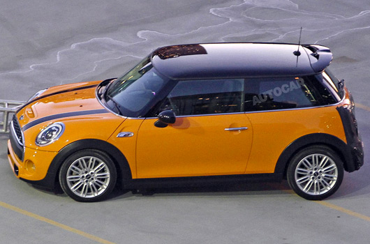 MINI F56 prototype