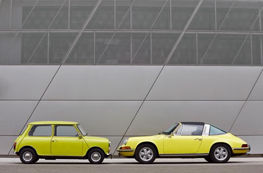 MINI congratulates Porsche
